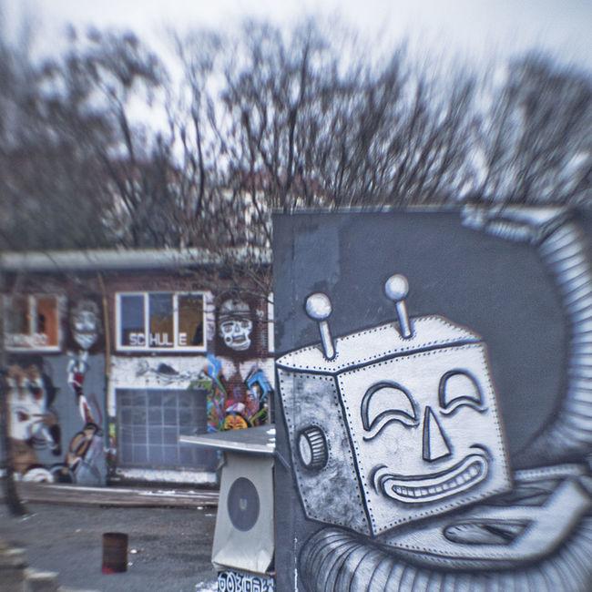 Art Creativity Day Footpath Graffiti Land Vehicle No People Outdoors Streetart Streetart/graffiti Streetphotography Transportation Urban Urban Sper Urban Spree
