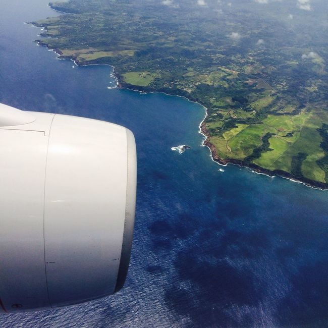 Aloha Maui On The Road Hello World Landscape