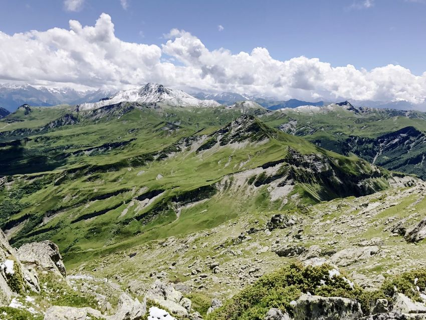 Alps Rhône Alpes Mountain Nature Landscape Beauty In Nature Sky Scenics Day Tranquil Scene No People Tranquility Outdoors