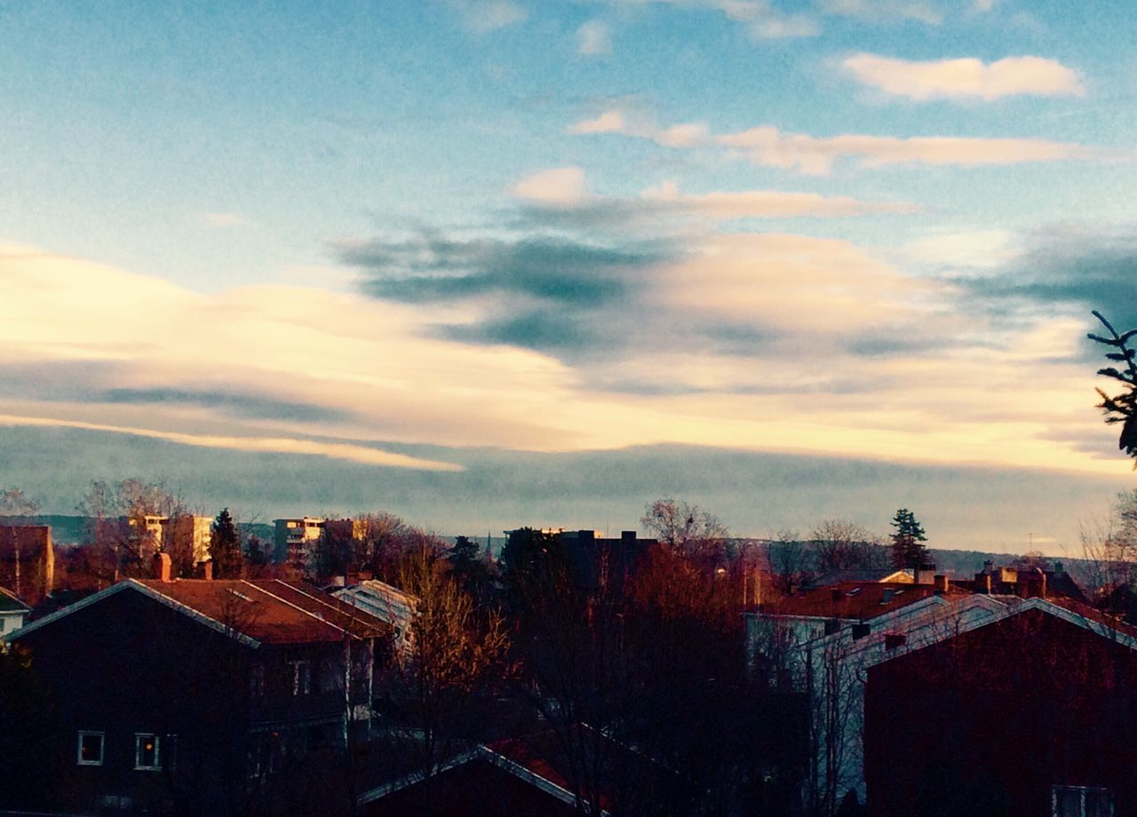 'My Christmas Morning View' Building Exterior Architecture Built Structure City Sky No People Residential Building Cloud - Sky Sunset Outdoors Cityscape Tree Nature Day Rooftop Balcony View Urbex Eyeem Beautiful Day Winter2016 ❄ URBex Oslo Sunrisephotography Winter Has Come Christmastime KariJosefiné✨