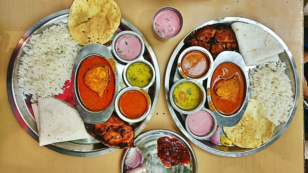 Table Indoors  No People Day Fishthali Indianthali Konkani Food Patilkhanaval Plate Healthy Eating Food Ready-to-eat Cultures Calmness Murud india
