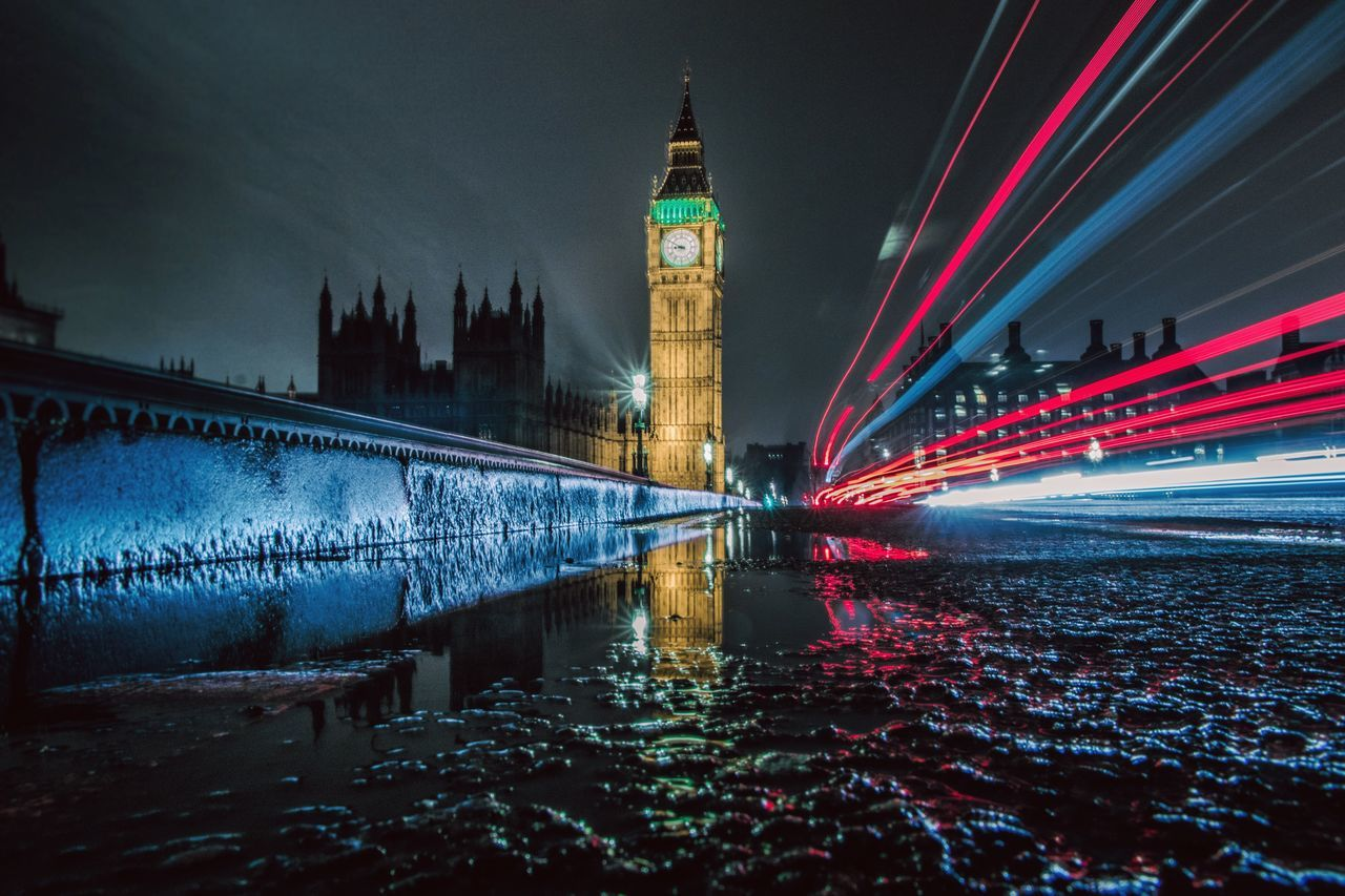 Big Ben London Night Long Exposure Light And Shadow Light Trails City City Life Cityscape Canon Fisyeye Architecture Creative Light And Shadow Getting Inspired EyeEmBestPics Winter Tourism Illuminated Eyemphotography EyeEm Gallery Wanderlust Visual Statements EyeEm Best Shots Photooftheday Eye4photography