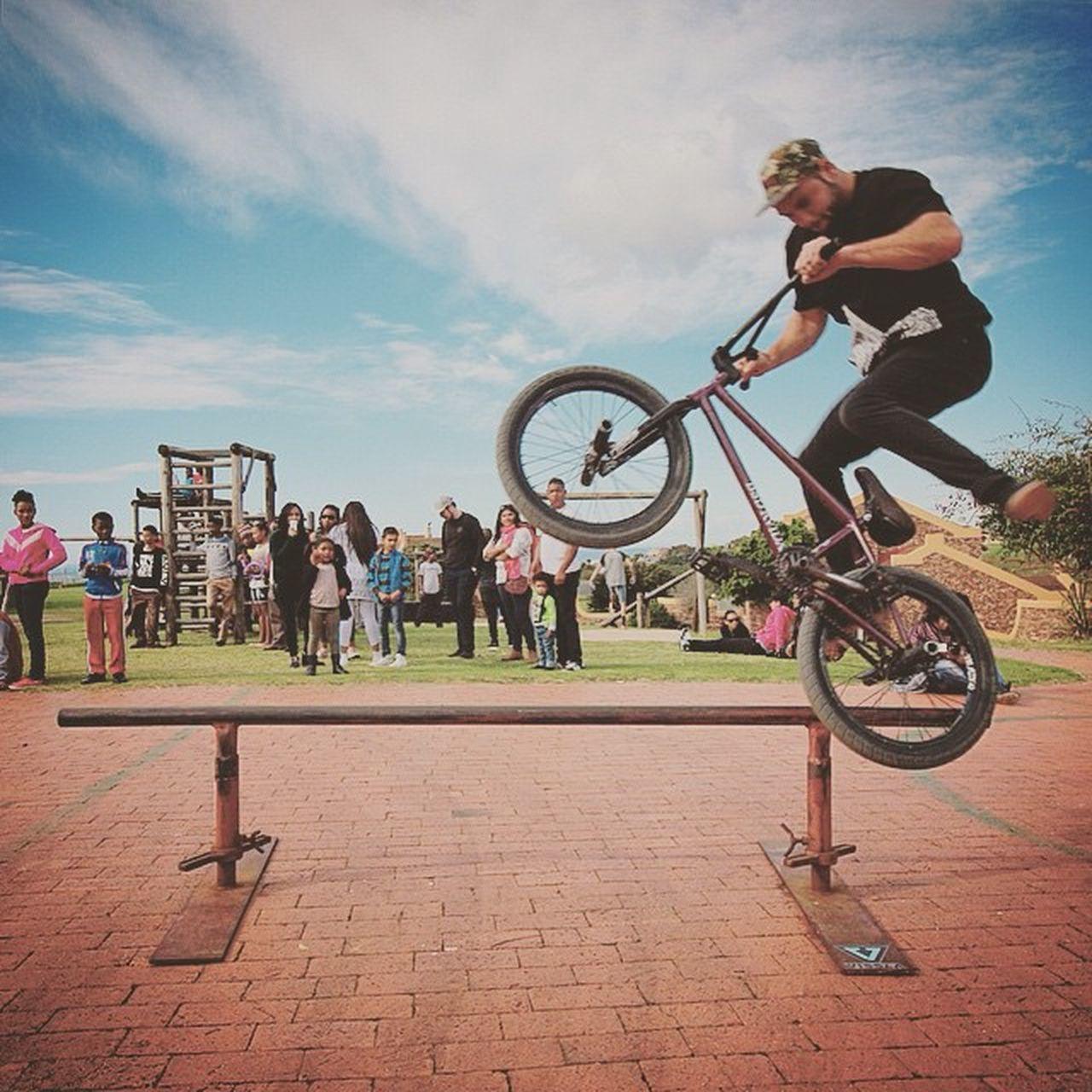 @vinnisilo doing 180 over the rail. Bmx  Rideforgood Talent Shooteditsleeprepeat Rebelmediaguys Bmxplore
