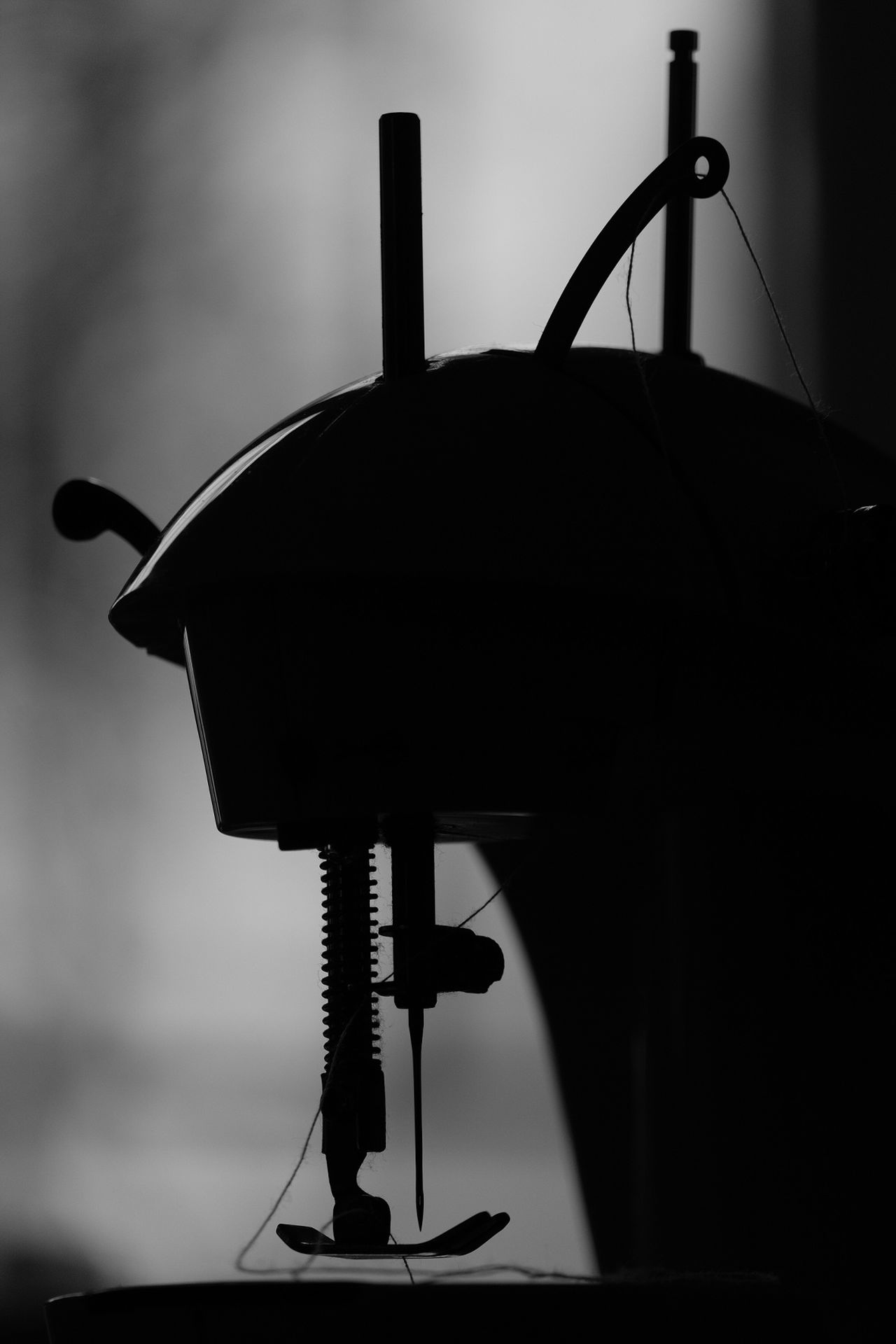 Sewing Machine Sewing Photography Black And White INDONESIA Sewing Jakarta Artphotography Blackandwhite Photography Silhouette Sewing Machine Fine Art Photography Bwphotography Sew FUJIFILM X-T1 Fujifilm Nature