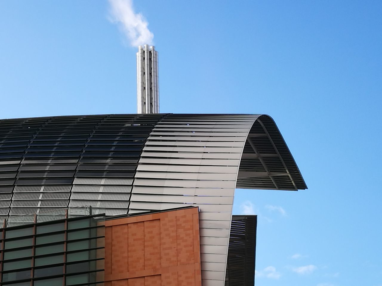 Architecture Francis Crick Institute. Sky Outdoors Building Exterior No People Day Built Structure Built_Structure Buildingstyles Modern Roof Structure Low Angle View Chimneys &beautiful Skys