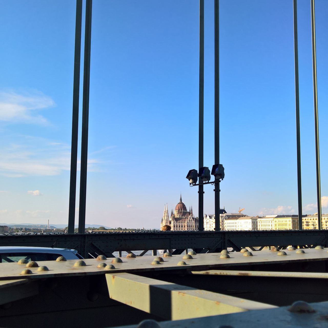 Architecture Blue Building Exterior Built Structure Car City Cityscape Clear Sky Close-up Danube Day Duna Mode Of Transport Nature No People Orszaghaz Outdoors Parlament Parliament Sky Sunlight Transportation Window
