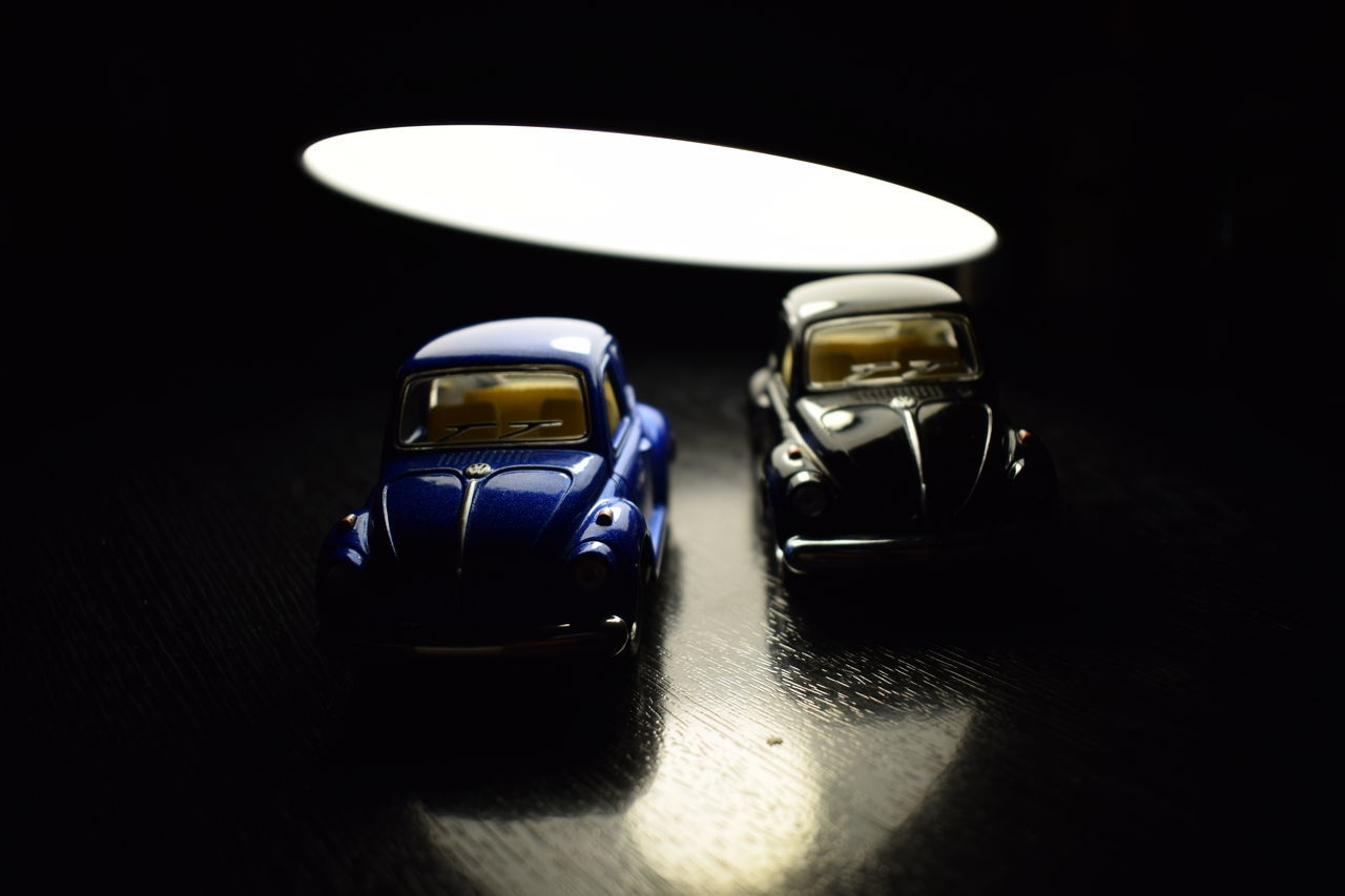 beetles.... Beetle Black Background Car Close Up Close-up Fun Getty Images Indoors  Lamp Night Nikon Nikond5300 Nikonphotography No People Photography Picoftheday Premium Collection Reflection Toys Vehicle Volkswagen