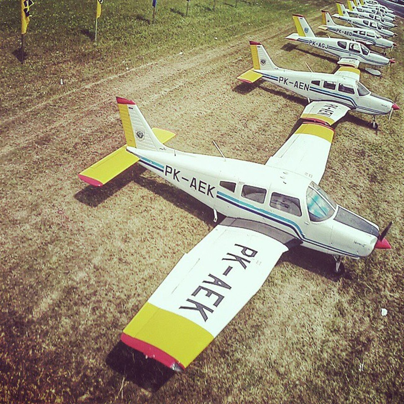 Piper Warrior Mark III ✈ Aviation Aircraft Piperwarrior Flyingschool stpi bandarabudiarto gopro goproid goprooftheday djiphantom djiphantomid vscocam vsco
