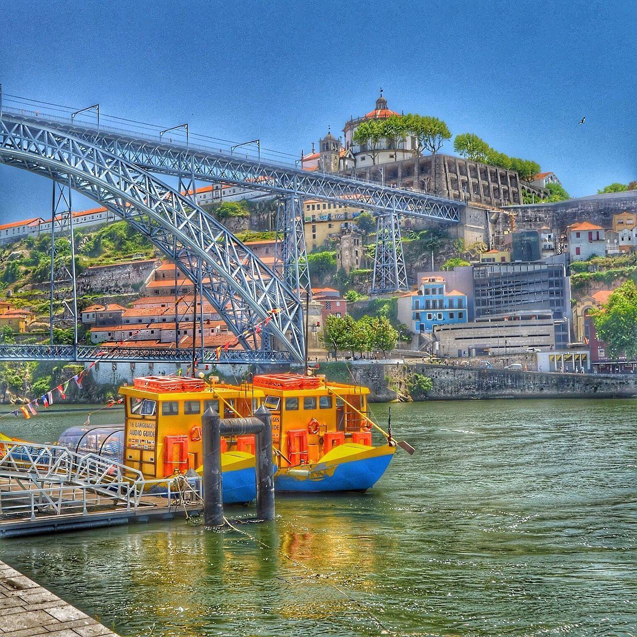 Water River Outdoors Enjoying Life Boats Boats⛵️ Bridge Douro  Douro River Portugal
