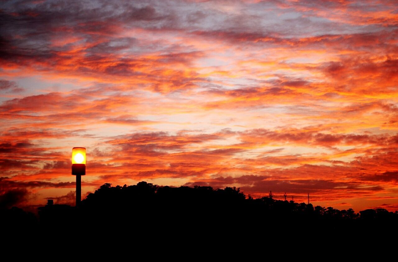 On fire... Sunset Sky No People Dramatic Sky Silhouette Nature Beauty In Nature Illuminated Outdoors Cloud - Sky Watching The Sunset Silouette & Sky Sunlight Sunset Silhouettes Skylight Sun Existential  Lamp Post Colorful Sky Clouds And Sky Baguio City, Philippines Anncabantingphotos EyeEmNewHere