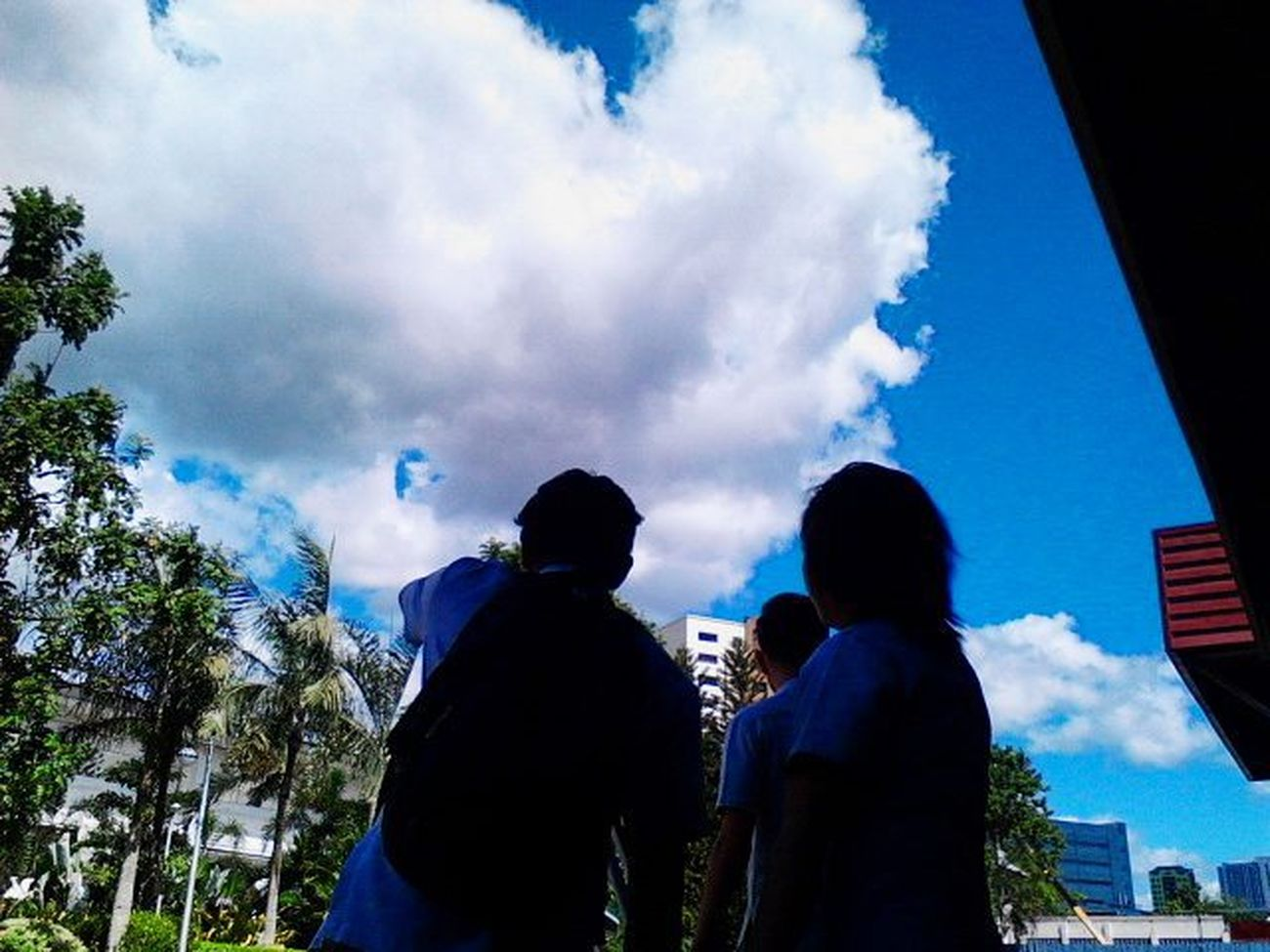 Future Civilengineers Shutterbug Clouds TIPQC Quezoncitybased Quezoncity