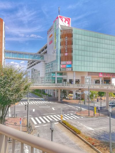 Sky Architecture Outdoors Day Travel Destinations Building Exterior No People City Oume City Tokyu Japan Road