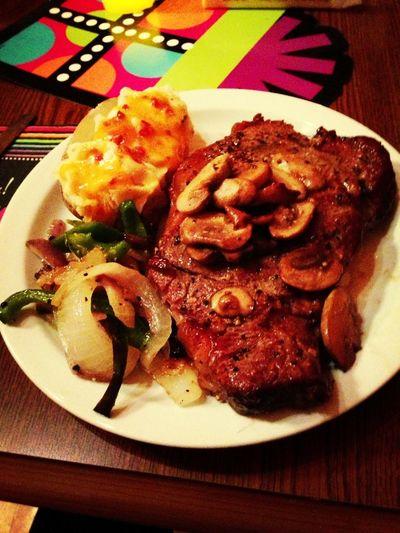 Bday steak
