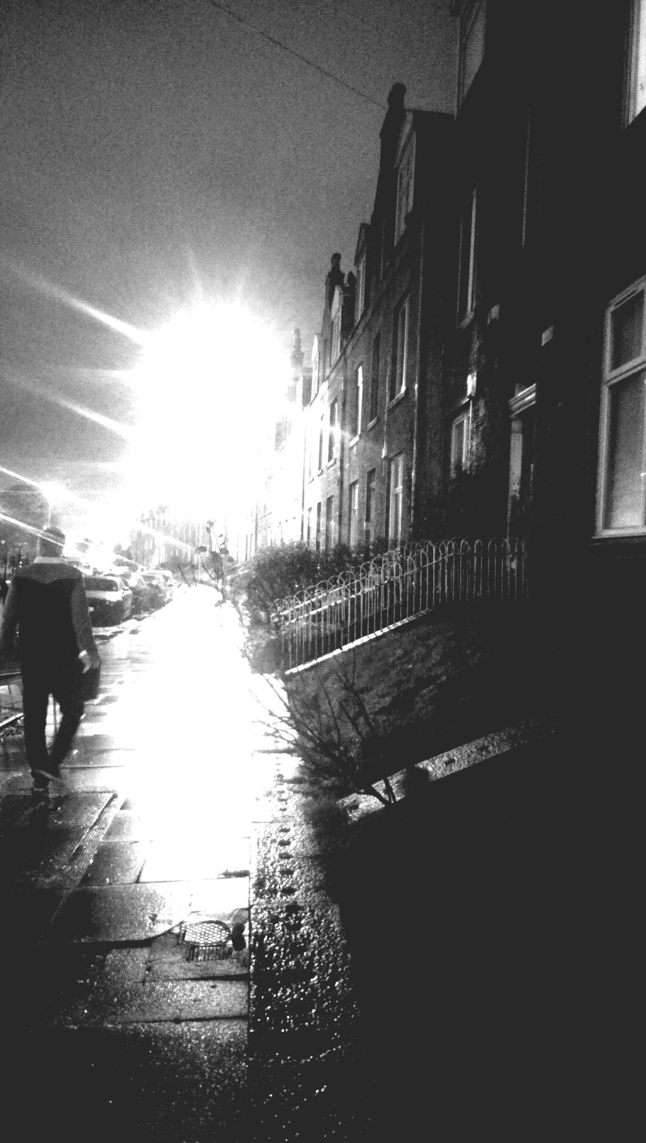 Blackandwhite Ordinary  Streets Streetphotography Rainynights