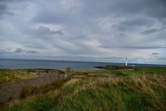 Taking Photos Lighthouse Aberdeen Coastline Nikon D5500