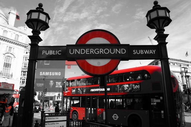 London Blackandwhite London Black And White Picadillycircus London Bus Red Bus Subway London Subway Only Red