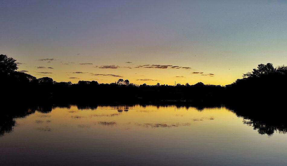 City Brasil Sunset Ceumaravilhoso Piracicaba Piracicabacity Pordosol Cores Reflection Reflexo  Espelho Espelhodagua