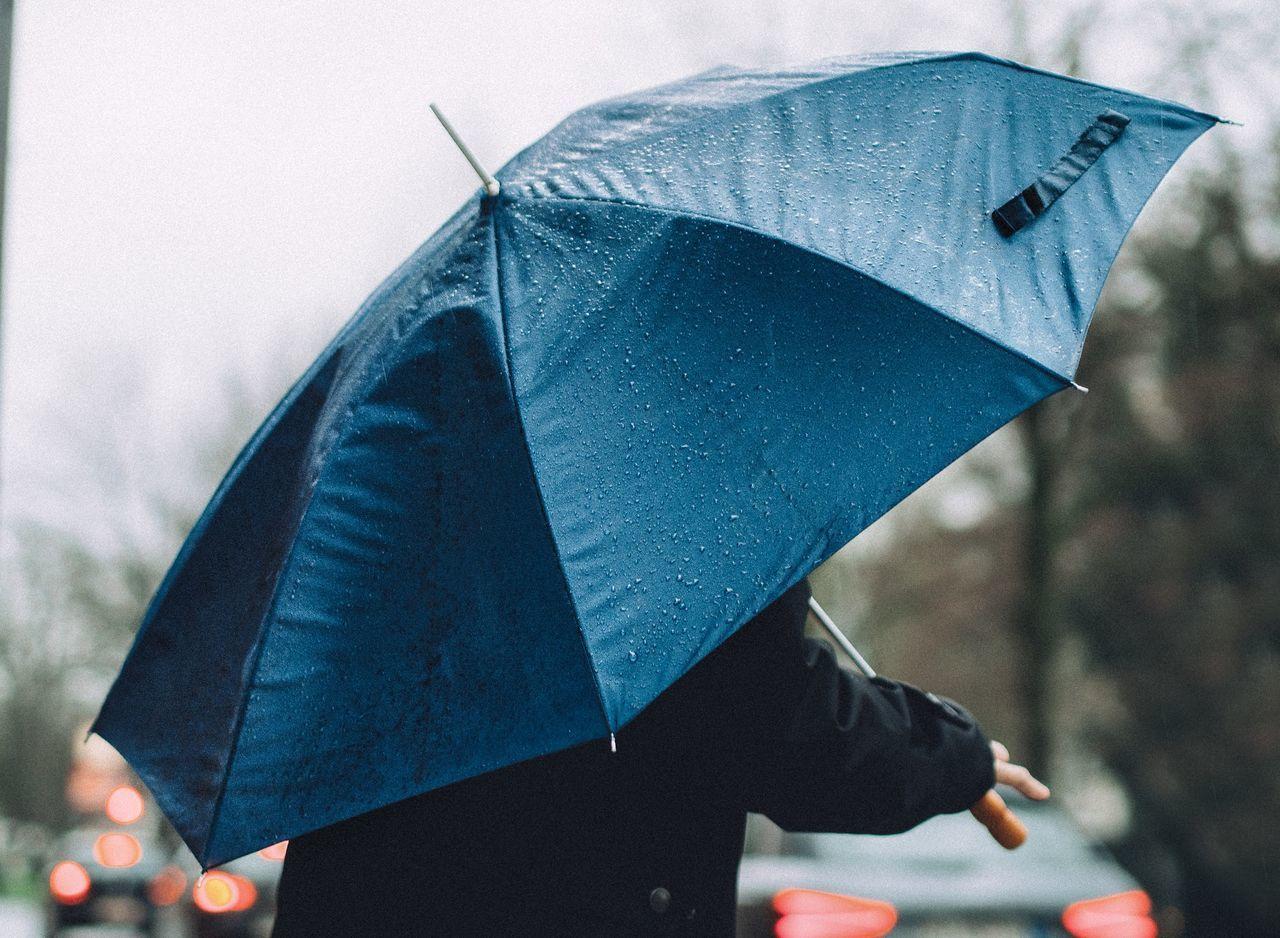 Beautiful stock photos of umbrella, Blue, Day, Drop, Focus On Foreground