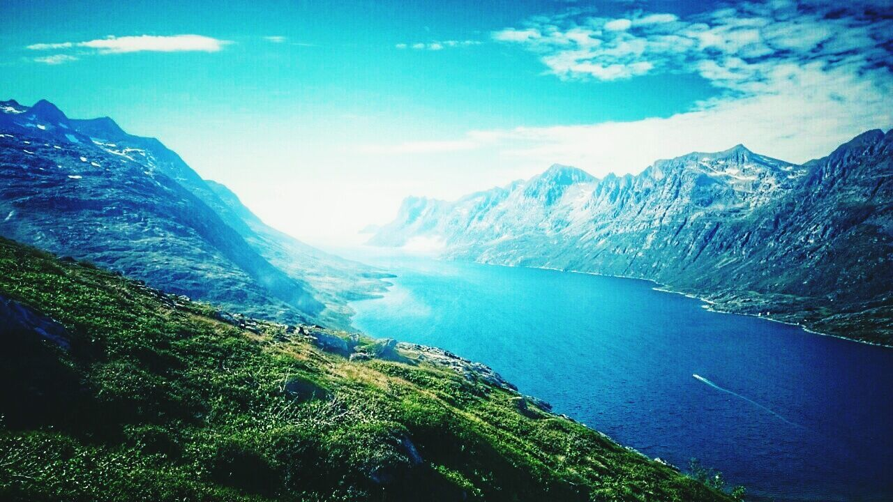 Tromsø NorwayTourism Norway Norwaynature Norwegian Landscape Klokkati Norwayfjords Norway ✌ Norway 2016 Mountains And Sky Mountain Mountain View Sky Cloudy Clouds And Sky Nature