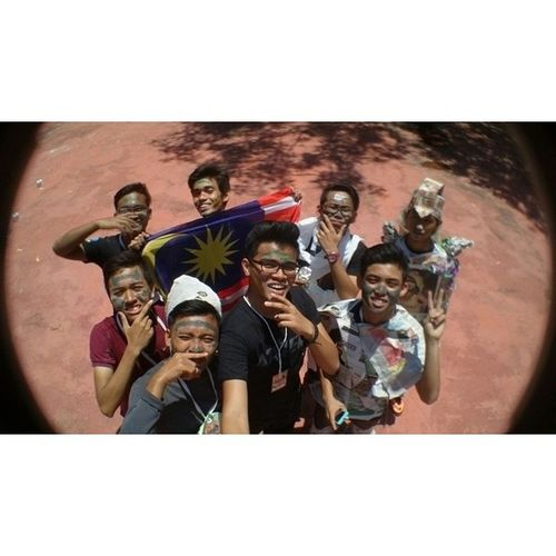 Finally the explorace is end. My team get ? 5. Wow!!! Throwback Selfiekingkong PRS Polisas vscocam vsco insta