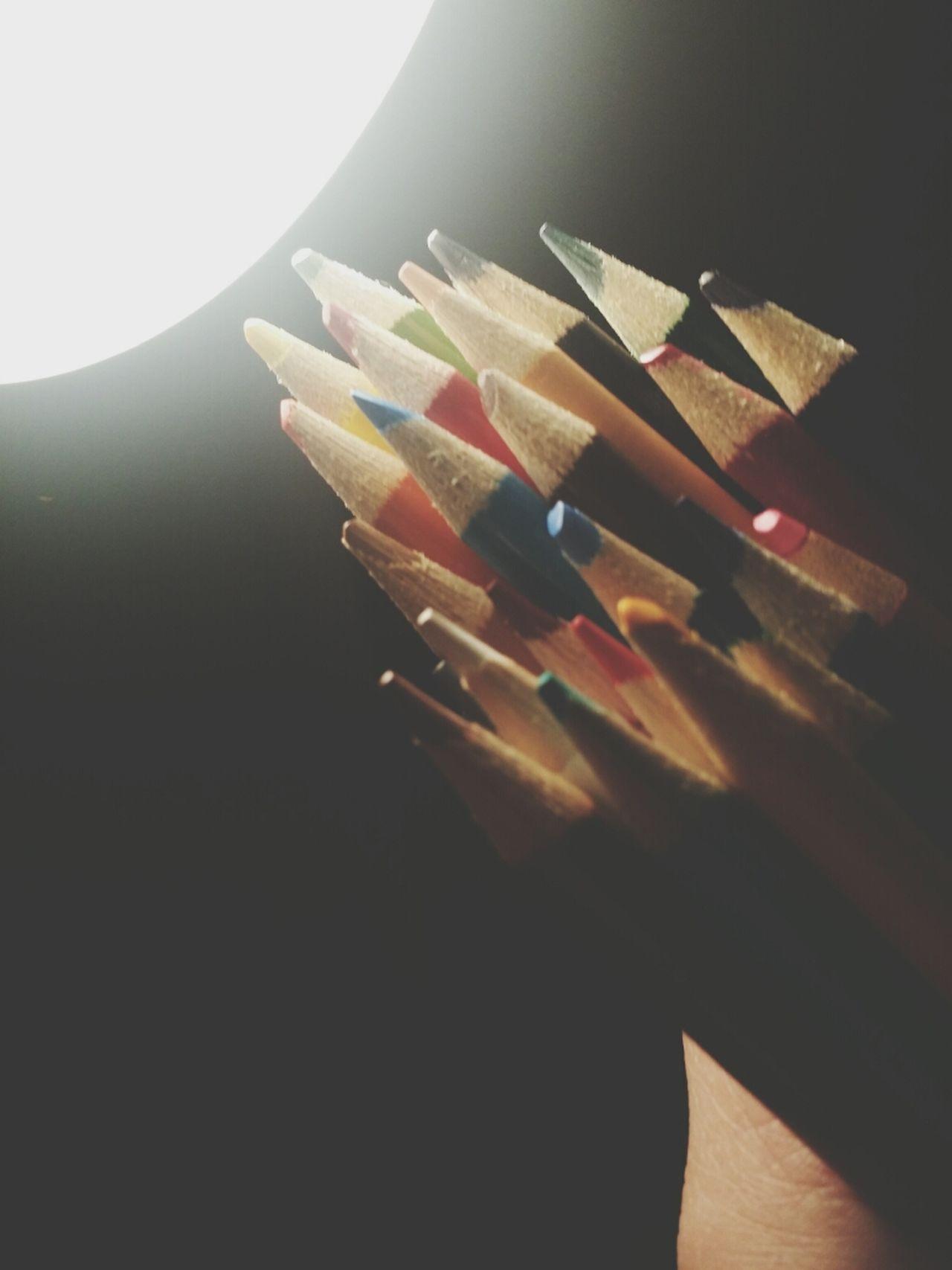 Beautiful stock photos of pencil, Black Background, Bunch, Close-Up, Color Pencil