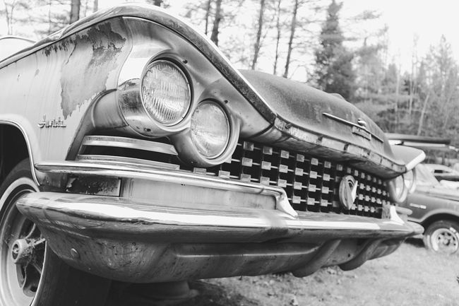 """Rare Invicta. """"Lost Metal Souls"""" part7 Lost Metal Souls Getting Inspired Black And White Old Car Junkie Bnw_junkie Monochrome Vintage Cars EyeEm Best Shots - Black + White Eye4photography  Ladyphotographerofthemonth"""