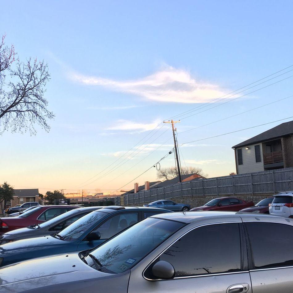 Shape Of Helicoper Cloud Great Day