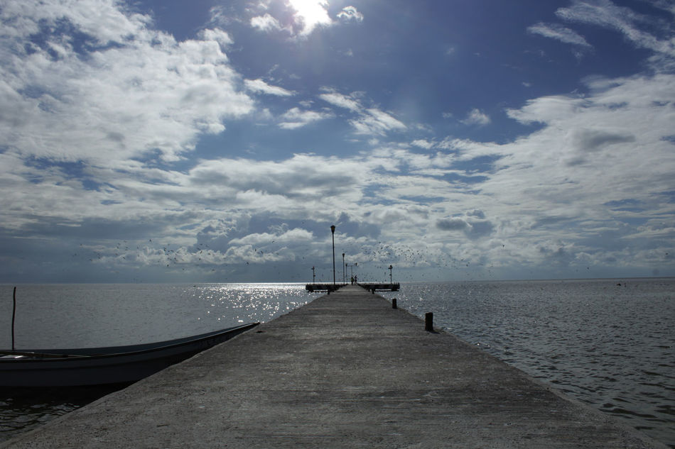 18mm Beauty In Nature Canon Canonphotography Day Dock EyeEm Best Shots Fotografomexicano Horizon Over Water Landscape Mestradaphotography Mexico Nature No People Outdoors Pier Scenics Sea Sky Vacations Water