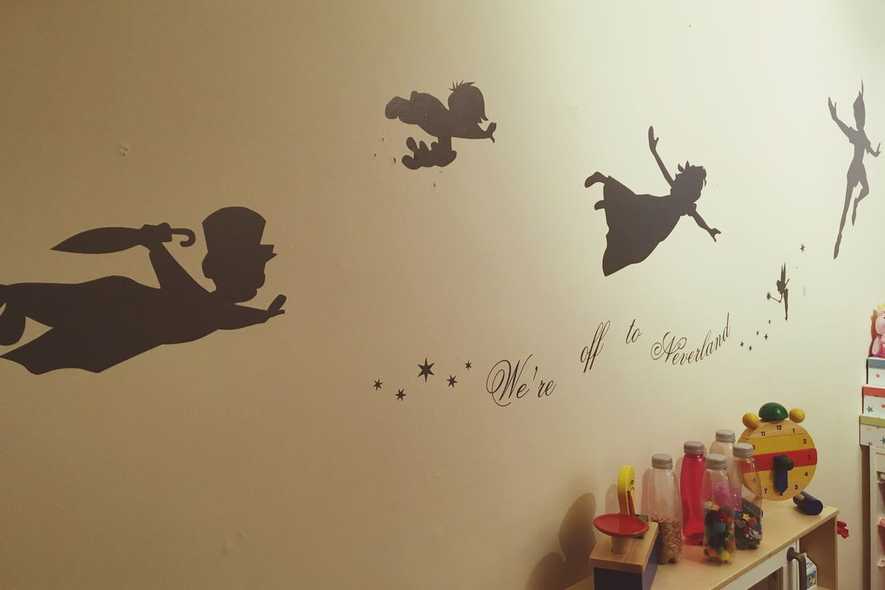 Flying Bird No People Animal Themes Sky Flock Of Birds Day Outdoors Mammal Peter Pan Lost Boys Neverland Childrens Play Area