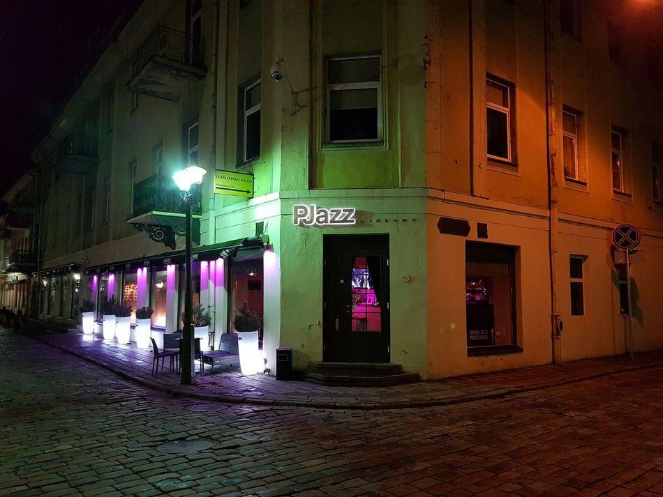Night City Kaunas At Night Samsung Galaxy S7 Edge
