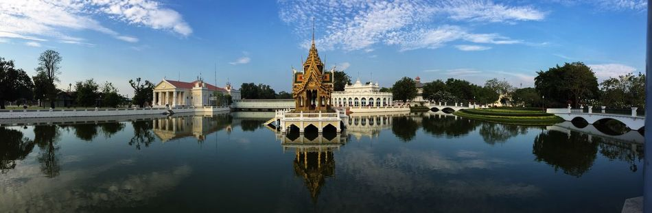 Beautiful stock photos of thai, Architectural Feature, Architecture, Art And Craft, Bang Pa-in