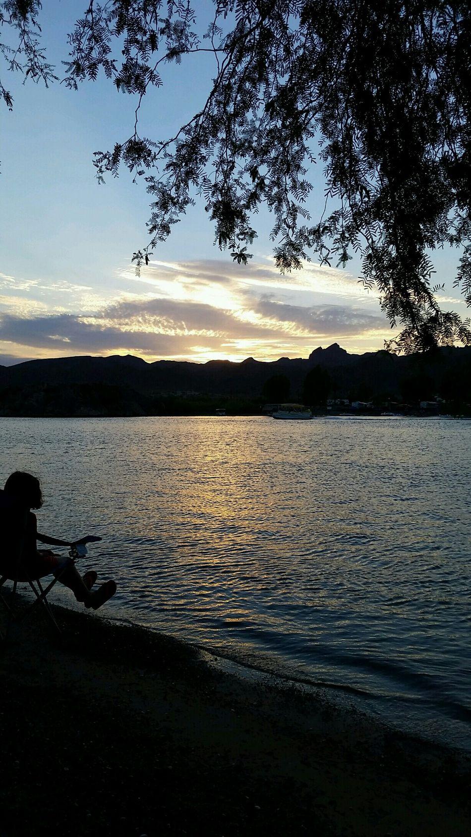Buckskin Mountain State Park💕Vacation Summer2k15 Camping ParkerAz Thesunset . Nofilterneeded