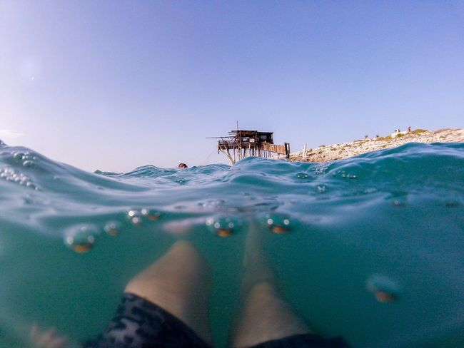 Summer Water Sea Day Outdoors Blue Tranquility Vieste Puglia Italy Gopro Goproherosessions Gopro