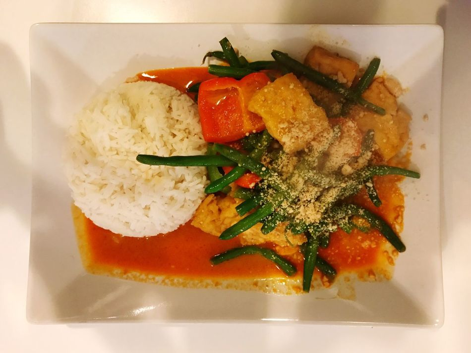 Food Lunch Thai Food Yellow Curry Curry Ready-to-eat Food And Drink Freshness Healthy Eating Plate Serving Size Indoors  No People