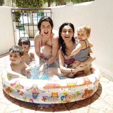 Motherhood Summertime Cheese! Swimmingpools