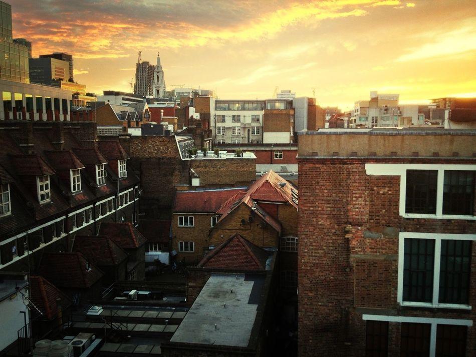 London Sunset Summer IPhone4s