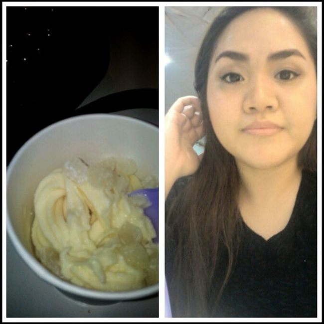 I hate mochi on my froyo but I decided to get them anyway coz I MISS YOU!! Etchoslang LOL Kiligkunyare Denial pinay plumpinay effyourbeautystandards igers igph 2013 weekends saturdate
