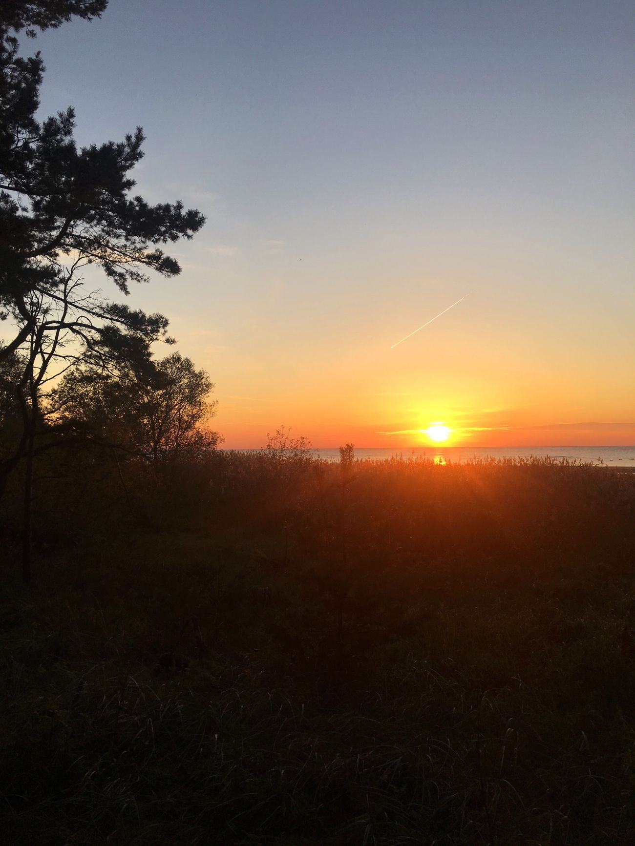 Sunset Baltic Sea Baltics2k16