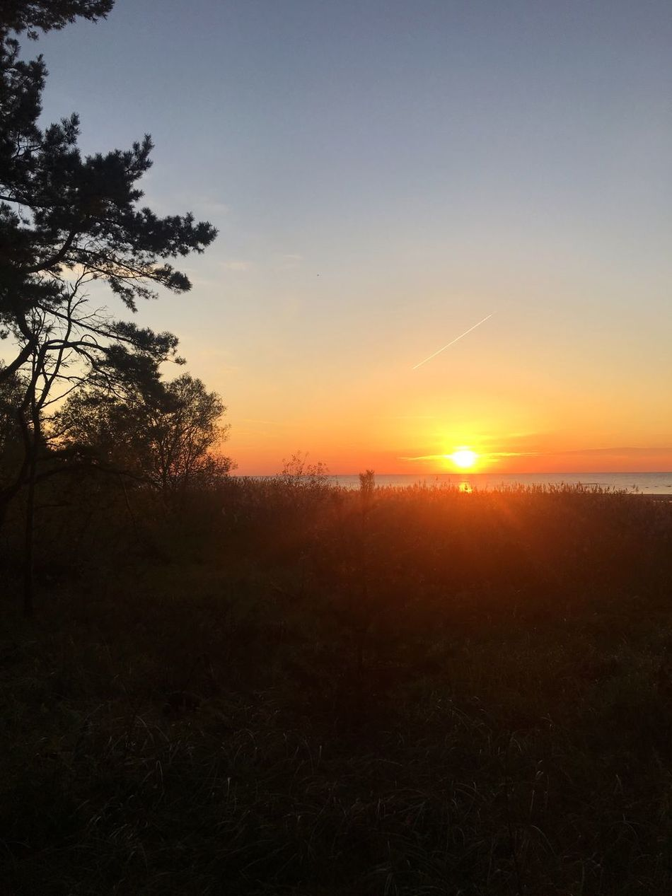 Sunset Baltic Sea Baltics2k16