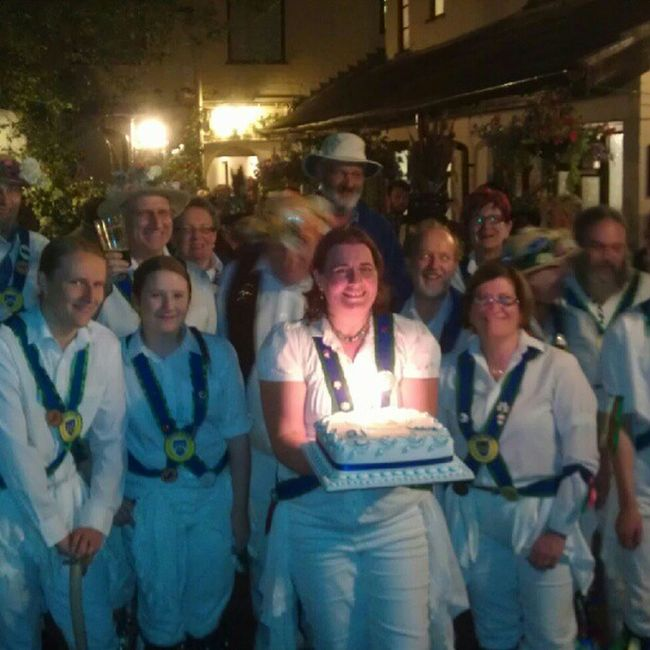 Bedcote Morris and there Birthday Cake :-D