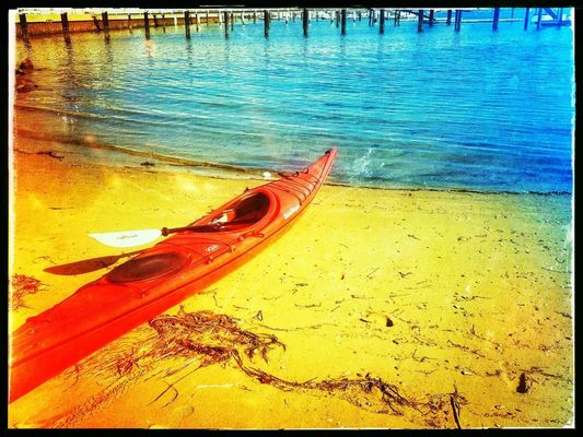 Kayaking at Corona del Mar by photo444.com