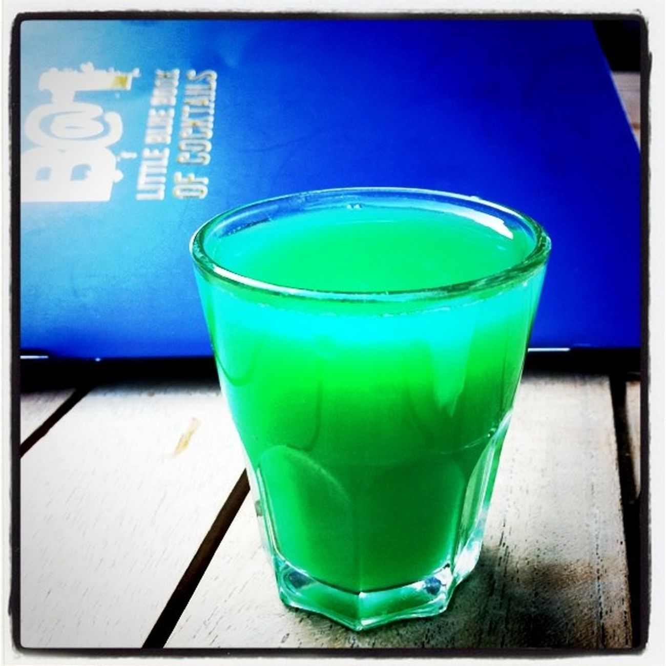 Free greenish shot