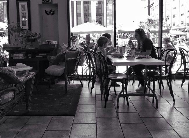 Sunday morning café Sunday Morning Relaxing Time Slow Life Hello World Enjoying Life Blackandwhite Streetphotography Fujifilm_xseries Love Life Eye4photography  EyeEm Gallery EyeEm Best Shots - Black + White