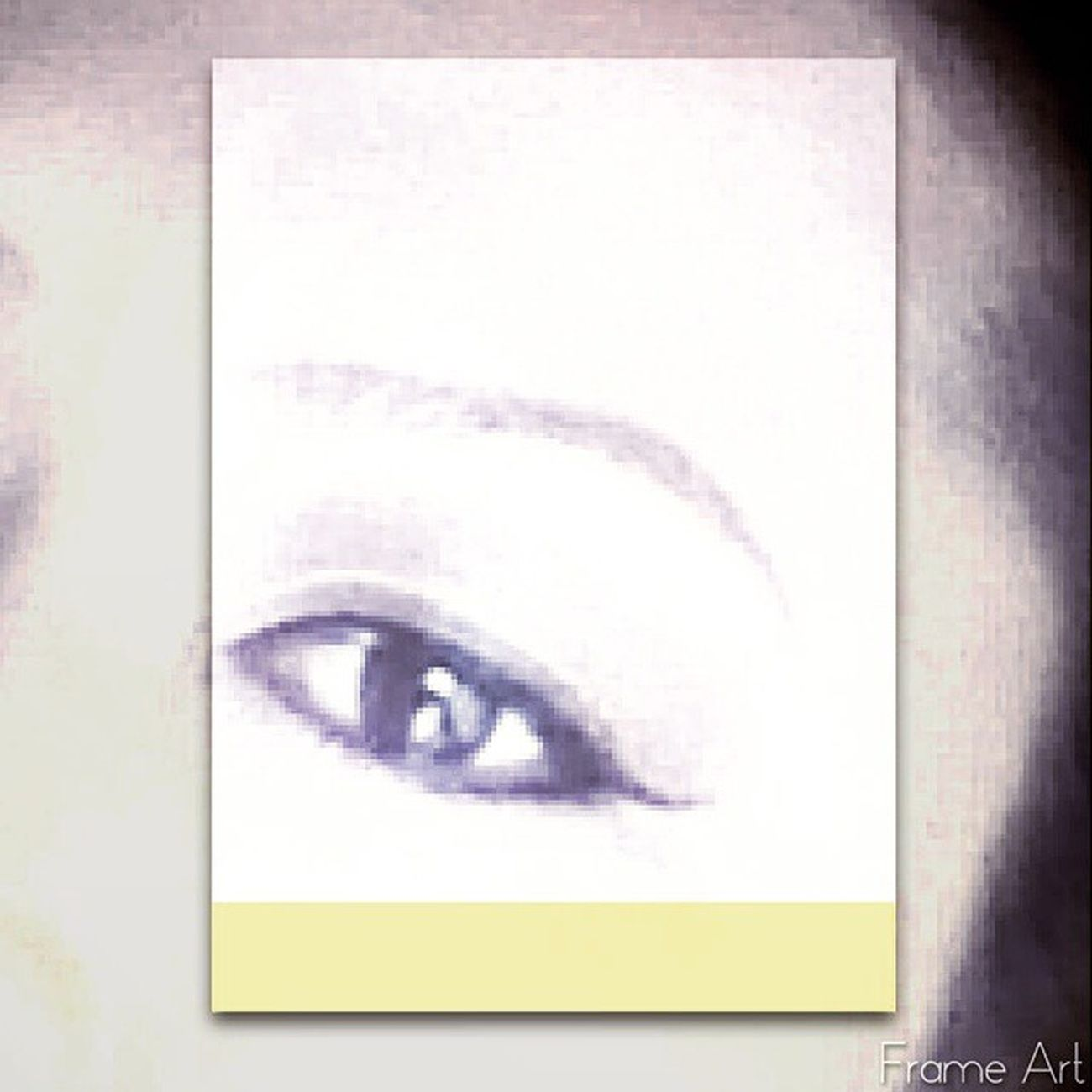 (Made with @frameart_rc) Frameart Eyes