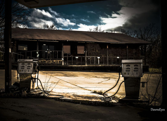 abandoned at Muskogee by Dawn