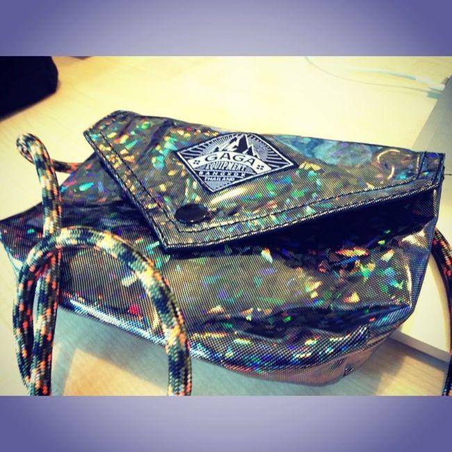 一種閃亮的節奏 Squarefx Shapes Gaga Blink Bag
