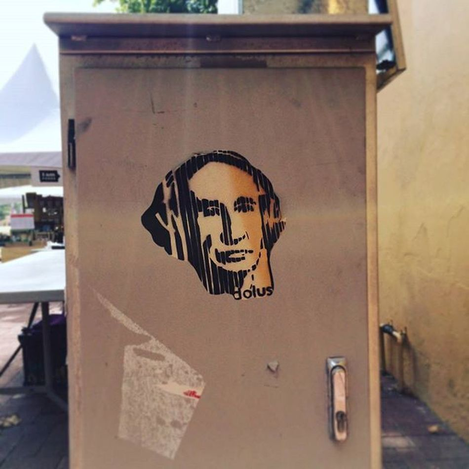 Mr Putin by @_dolus_ . 👍😏 Perth Subiaco Streetart Streetsofperth Perthlife Perthisok Putin путин Visitsubiaco Chemodiver