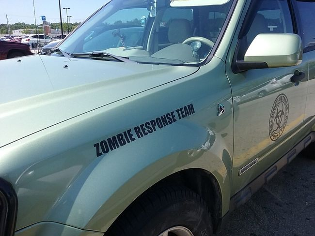 Zombie Response Team Transportation Car Land Vehicle Mode Of Transport City Outdoors Day Vehicle No People Walmart Zombie