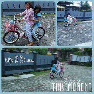 Ride..ride my bike..with lil sista.. Elfacacatime Tepocecedaily Alfanova Re_overlays overlays wneoverlays