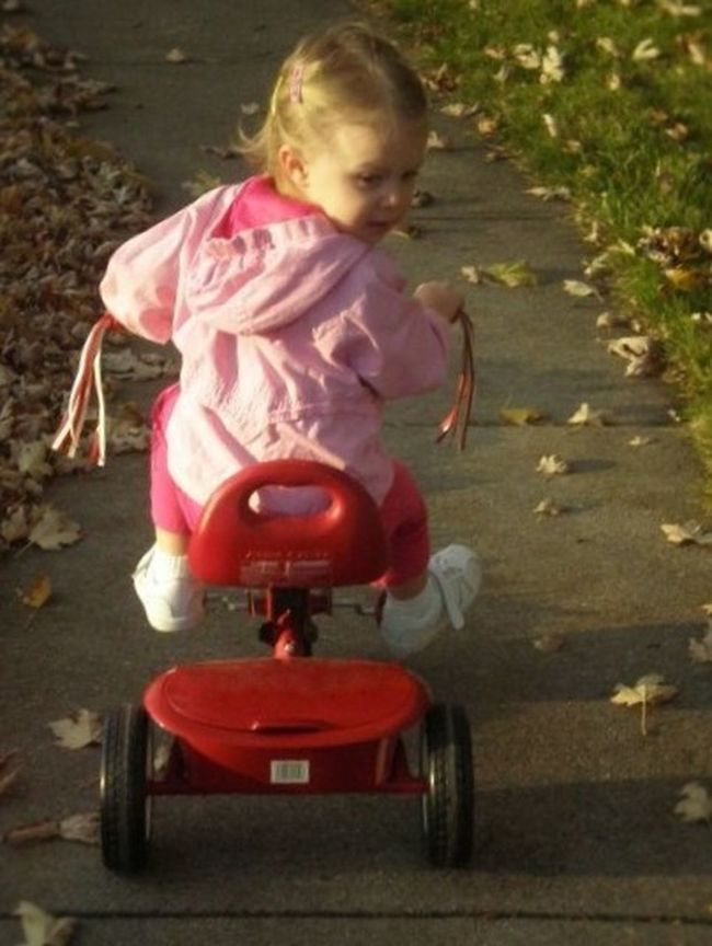 Autumn Leaves Bike Ride Childhood Childhood Memories Children Photography Fall Innocence Outdoor Activities Outdoors Red Looking Back